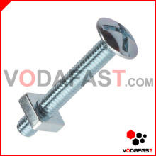 Cross Head Roofing Bolt with Square Nut