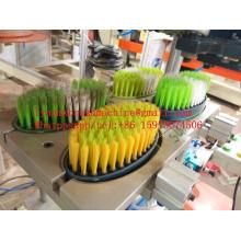Máquina da escova do CNC de 2 linhas centrais