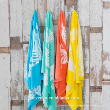 """Printing """"Hola"""" Beach Towels BT-554 Wholesale China Supplier"""