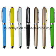 Superb Plastic Gel Ink Pen Touch Stylus (LT-C721)