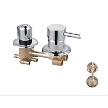 Bathroom 4 Way brass mixer bath faucets  Shower panel Faucet