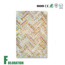 Eco PVC-Marmor-Wand für die dekorative Wand