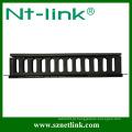 """19 polegadas 1U """"montagem em rack de gestão de cabos horizontal"""