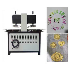 Logo Garment China Embossing Machine