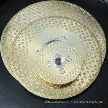disque de scie diamantée