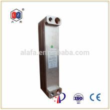 Jiangyin 6z compact brasées échangeur à plaques