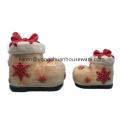 Pão pintado Natal cerâmica biscoito