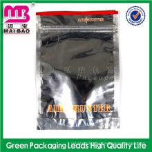 Alibaba certificó la muestra libre herbaria de aluminio de la cremallera / 1g popurrí del fabricante de la muestra