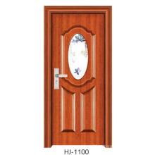 Puerta de dormitorio de puerta de vidrio (FD-1100)