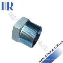 Adaptateur hydraulique mâle de connecteur de tube de prise de sortilège de NPT (4N)