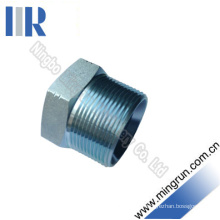 NPT Male Hydraulic Hex Plug Tube Connector Adapter (4N)