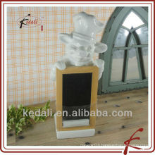 China Factory Wholesale Ceramic Porcelain Home Decor Message Boards