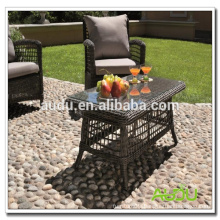 2015 New Style Rattan Craft Dining Table