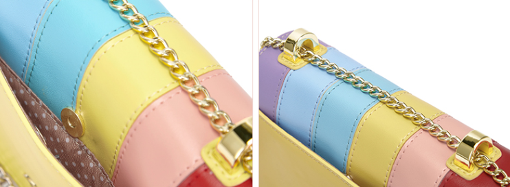 Candy Color Cross Body Bag