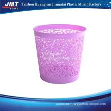 Round injection trash bin plastic moulds