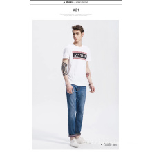 OEM New Design Cheap Sale T-shirt Homme avec imprimé