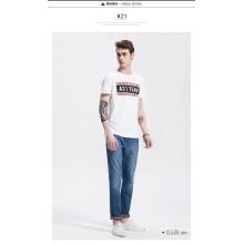 OEM Новый дизайн Дешевые продажи мужчин футболка с печатью