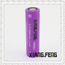 3.7V Xiangfeng 18650 2200mAh Icr Rechargeable Lithium Battery 18650 3.7V Battery