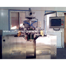 R & D Pharmaceutical Softgel / Paintball Making Machinery With Small Load Space
