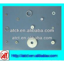 imán de tierra rara disco con orificio para tornillo medio, imanes de anillo