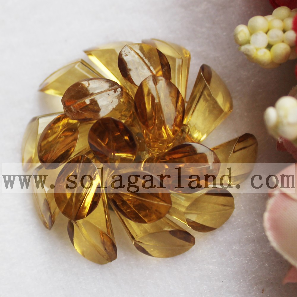 Acrylic Beading Decorative Flowers