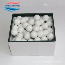 Daily production of 40 ton Inert ceramic aluminium packing balls 6mm in chemical 3-25mm 16%-25%Al2O3