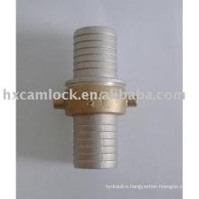 Aluminium pin-lug hose shank