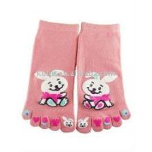 Meias de dedo do pé de criança