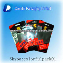 Wholesale printing Mobile phone cover high quality plastic bags