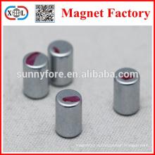 N35 1/4 x 1/16 круглые магниты с красной линии
