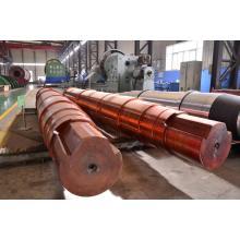 Engrenagem de aço inoxidável do eixo de transmissão para o fã industrial