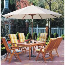 Umbrellasand del jardín medio / paraguas de playa