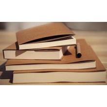 Контрактная тетрадь с крафт-покрытием для обложки, внутри пустого ноутбука