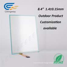AG Cover Glass Customized 8.4 Inch Ar-Coating Touch Panel Screen