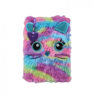 COLORFUL PLUSH NOTEBOOK -0