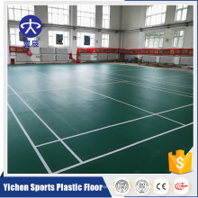 vinyl sports floor for indoor badminton