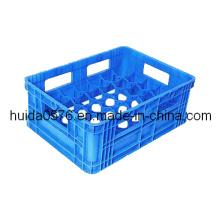 Moulage par injection en plastique (caisse de lait)