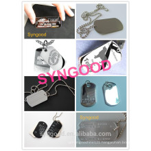 Syngood Mini CNC Router SG4040/SG3040-special for stainless steel dog tag bottle opener