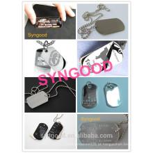 Syngood Mini CNC Router SG4040 / SG3040-especial para o abridor de frasco do Tag de cão do aço inoxidável