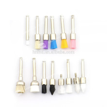 Different Shape Nylon Or Bristle Dental Prophy Brush/Polishing brush