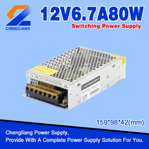 12V 80W LED SMPS For LED Strip