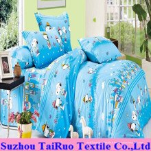 Drap de lit pour enfants de 100% coton imprimé
