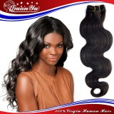 Best Quality body wave virgin Brazilian hair extension for wholesaler