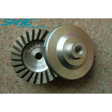 High Quality 100mm Diamond Grinding Cup Wheel (SA-067)