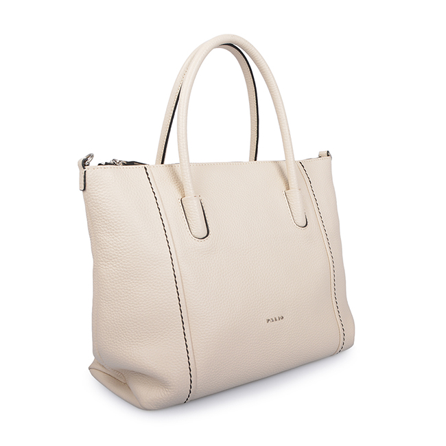 Fashion Beautiful Simple Leather Hand Bag Women Office Tote Bag
