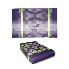 A la venta color morado color headtie aso africano oke diseño en stock para la fiesta de bodas