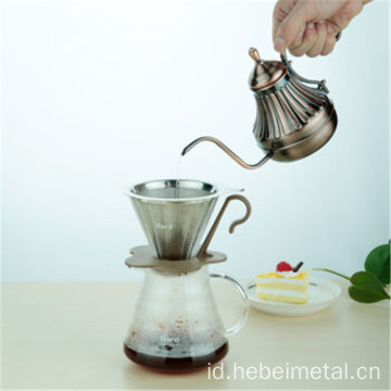 Reusable Paperless Cone Coffee Dripper