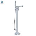 Hardware fabricante cascada bañera grifo piso permanente bañera llenador