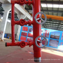Oil  well Cementing Tool Double Plug Casing Cement Head FOR Manifold Cementing Head