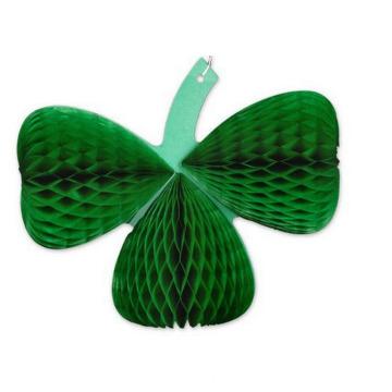 2015 New Design Honeycomb Fanburst Decoration Dark Green